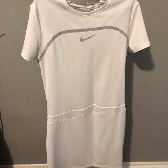 Nike Dresses & Skirts - Nike white golf dress!